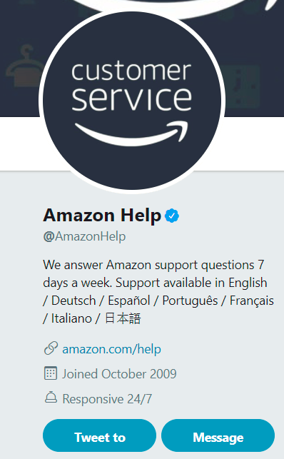 screen amazon compte twitter