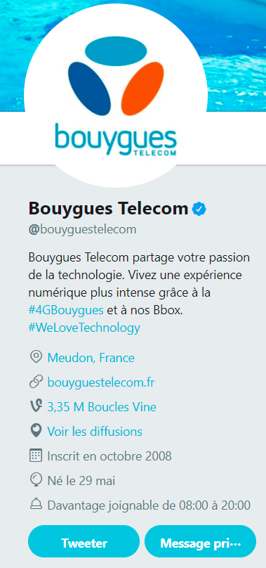 screen compte twitter bouygues telecom